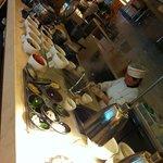 Otra vista del buffet de desayuno tipico chino