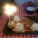 petites bougies pour nos 3 ans de mariage...