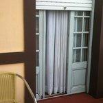 Balcón de habitación superior