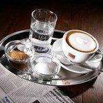 Coffee and Newspaper Time