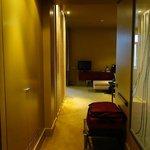 Hall - ample storage