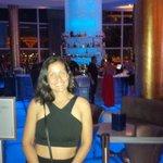Lobby bar at night time