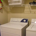 Full laundry in your unit, enclosed closet area in hallway