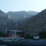 Almost at the Palm Springs Aerial Tramway center