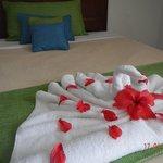 Towel figure