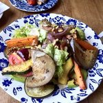 Salad with grilled Veggies
