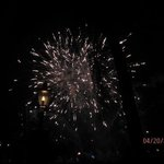 And, the finale - the great fireworks display.