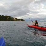 Adriatic sea, kayaking with Red Adventures