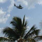 April 2014  Seaborne airlines plane overhead