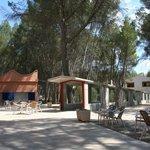entrada del balneario