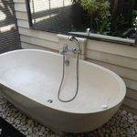 Bath in Deluxe Villa