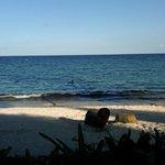 Linda playa durante la vuelta a la Isla!