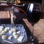 Cheese and wine snack!