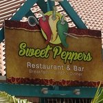Sweet Peppers sign