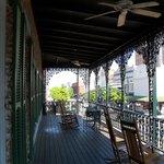 Balcony at the Marshall House
