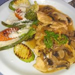 Delicious chicken marsala