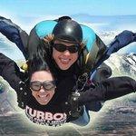 Skydiving over Tahoe