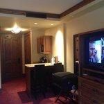 Vista interior de la habitación, área del Kitchen-aid - Hotel es cómodo y en un ambiente donde L