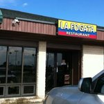 Front view of the restaurant. Not to be confused with La Fogata Mexican Restaurant.