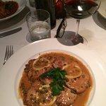 veal scallopini with lemon sauce
