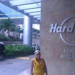 Ingreso al hotel hard rock