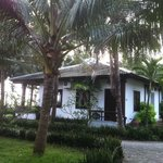 Beach front bungalow at Langco beach resort