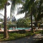Swiming pool at Langco Beach Resort