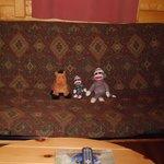 Futon in great Room of deluxe cabin