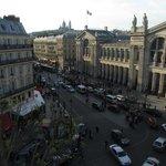 Gare du Nord traffic jam