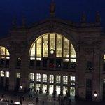 Gare du Nord- night