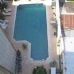 the swimmingpool downstairs