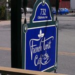 French Twist Cafe sign