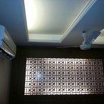 Room interior, no windows but with a good ventilation