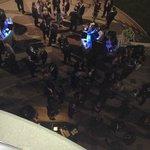 Loud drunk party-goers outside my balcony