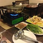 Free hot pot dinner