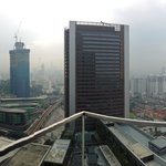 Panorama View from Rooftop Pool area