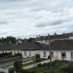 Vista sul tipico quartiere residenziale irlandese.