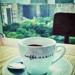 Nice espresso coffee made with a La Marzocco machine! ☕️��