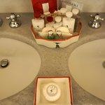 First-class bath amenities