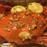 Roasted Garlic and Butter Crab