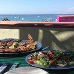 pranzo in terrazza...