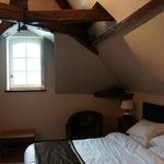 Our room at the attic