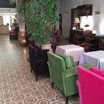 Lounge und Frühstücksraum