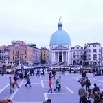 The first eye-catching dome in Venice
