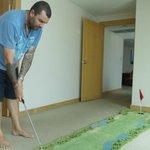 In room mini golf