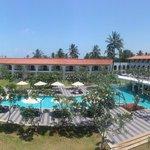 Hotelanlage mit grossem Pool
