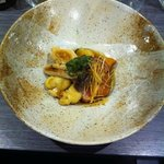 Menu Dégustation - Filet de canard rôti sauce teriyaki parfumé au champignon enoki