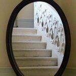 le très bel escalier du chateau