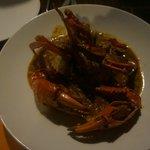 A medium sized crab