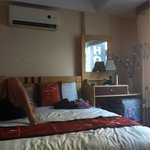 Delux double room - much nicer than the superior room